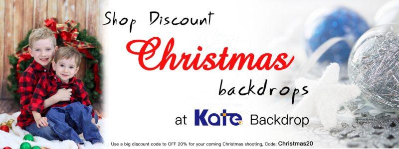 Christmas backdrops at Kate Backdrop