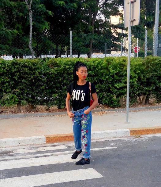 Jean mom & t-shirt les bons basiques (12)