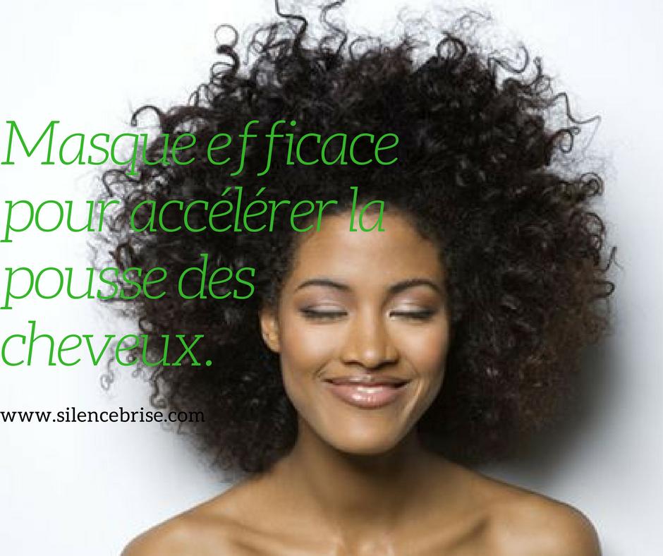 masque efficace pour acc l rer la pousse des cheveux 1 silence bris. Black Bedroom Furniture Sets. Home Design Ideas